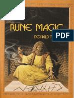 Rune Magic by Donald Tyson