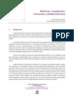 Reformas, investigación, innovación y calidad educativa.pdf