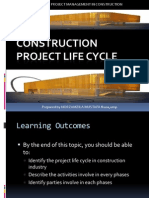 Chapter 2-Project Life Cycle