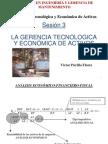 S3-La Gerencia Tecnológica y Economica de Activos