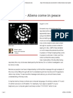 It's official - Aliens come in peace - Tucson ufo   Examiner.com