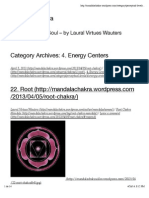 4. Energy Centers | Mandala Chakra