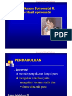 Teknik Pemeriksaan Spirometri