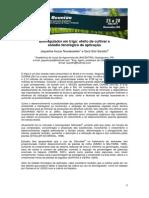 Biorregulador Em Trigo - Efeito de Cultivar e Estádio Fenológico de Aplicação