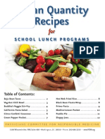 Vegan Recipes for School Lunch Programs