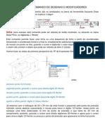 Principais Comando de Desenho e Modificadores