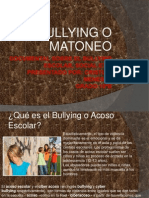 Documental Sobre El Bullying Escolar, Social Etc