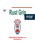Rust Grip Spanish Presentation, SPI-LATAM-01-14