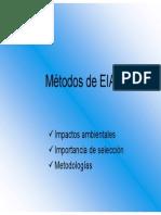Metodos de EIA