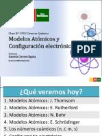 Clase 2 Química - Modelos Atómicos y Conf. Electronica