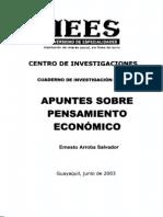 Apuntes Sobre Pensamiento Economico