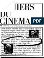 Cahiers Du Cinema 300