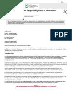 Manual de Bioseguridad de La OMS 2005