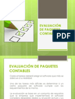 Evaluación de Software Contable