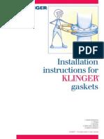 Flange Gasket Installation-Instructions