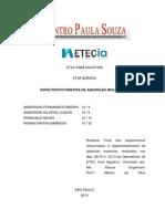 Espectrofotometria de Absorção Molecular (Relatório)