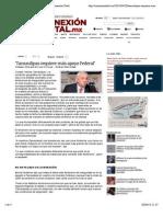 28-04-14 'Tamaulipas Requiere Más Apoyo Federal' - Conexión Total