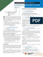 High Impedance Resistor Calculation