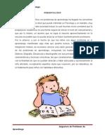 Problemas de Aprendizaje- DISLEXIA