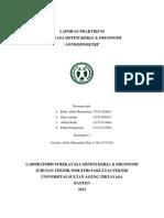 LAPORAN PRAKTIKUM RSK&E MODUL IV - ANTROPOMETRI