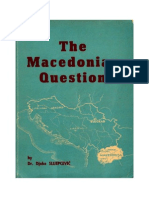 The Macedonian Question Djoko Slijepcevic