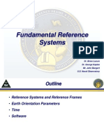 JNC 2011 Reference Systems Tutorial