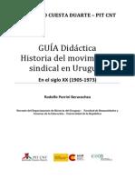 Guia de Historia Sindical de Rodolfo Porrini