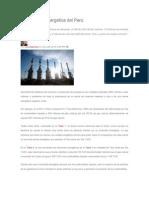 La Situación Energética Del Perú