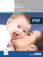 Infant Nutrition for Healthy Development
