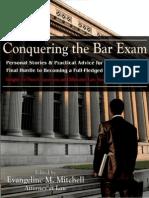 Conquering the Bar Exam