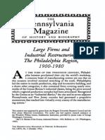Scranton Philadelphia Industrial History Twentieth Century 1992