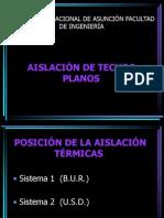 Aislación de Techos Planos