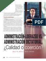 admisnistracion, liderazgo