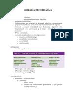 Hemorragia Digestiva Baja