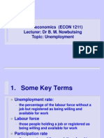 Unemployment - Topic 7