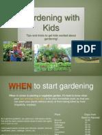 independent study - gardening