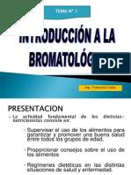 Introduccion a La Bromatologia