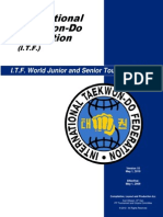 50757318 ITF Official Rules of Competition Tkd Itf