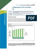 Short Wonderous Lives of Social Networks