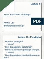 03 HMT423 Lecture III Ammar Latif