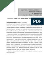 Tsj Córdoba - Sentencia 34-2014 - Loyo Fraire (1)