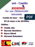 Act. San Ramón