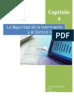 Auditoria Informatica Capitulo 4 El Control Interno