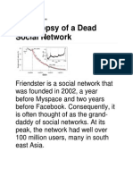 Death of a Socnet