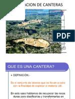 Explotacion de Canteras