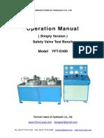 YFT-D400 Operation Manual