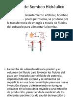 Sistema de Bombeo Hidráulico