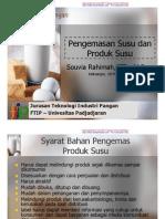 Pengemasan Susu Dan Produk Susu1