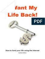 21177320 i Want My Life Back Use Your Website to Escape the Rat Race
