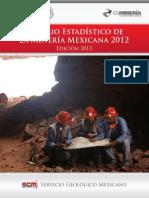 Anuario Mineria Mexicana 2012 Ed2013